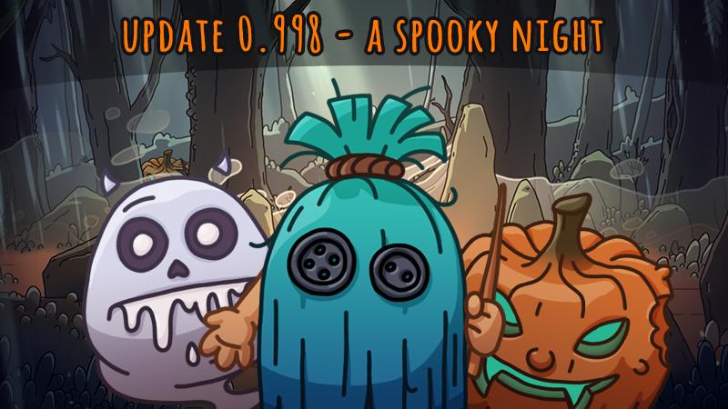 Update 0.998 - A Spooky Night (event)