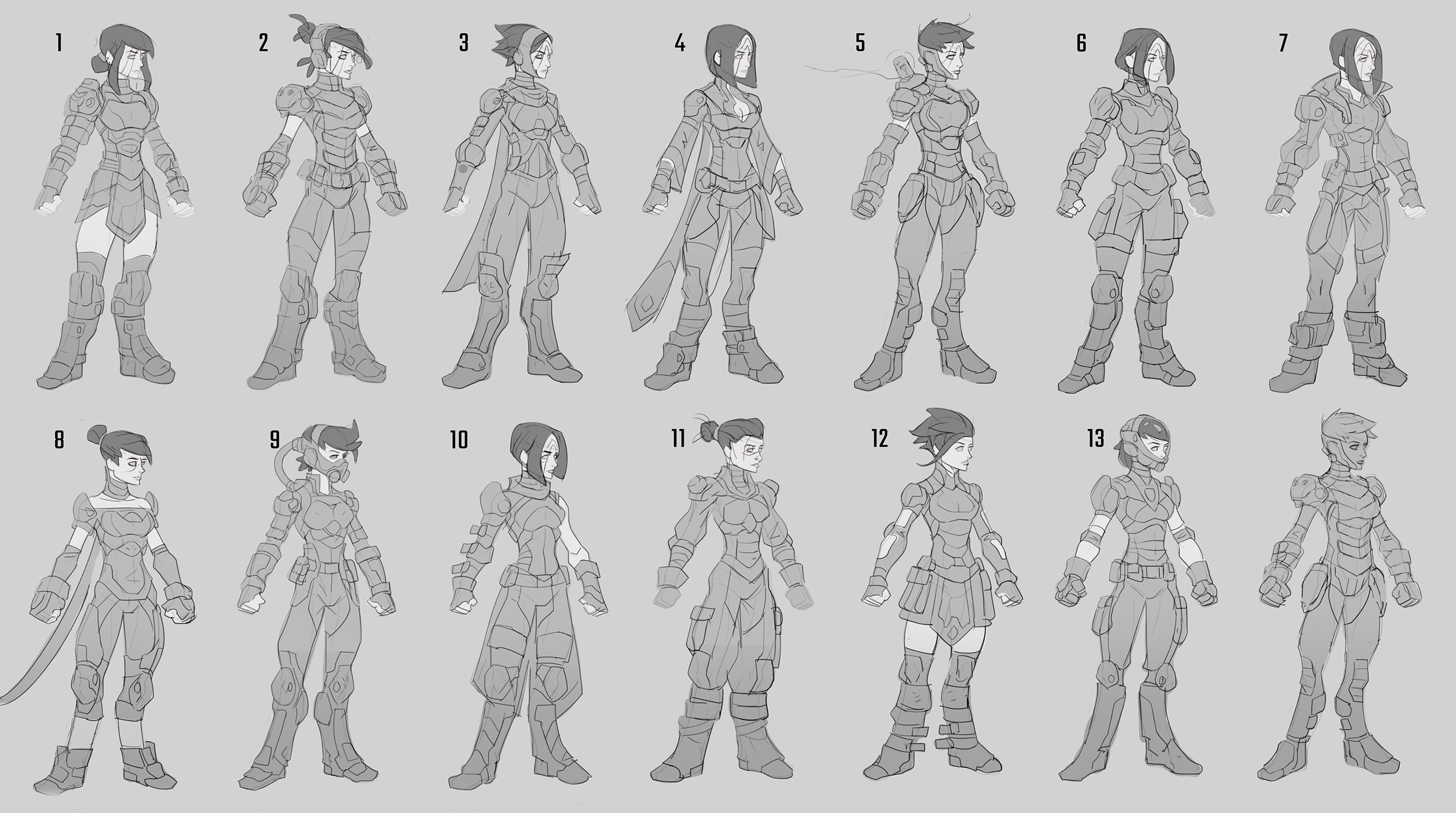 The team had a lot of freedom to create a tough female protagonist