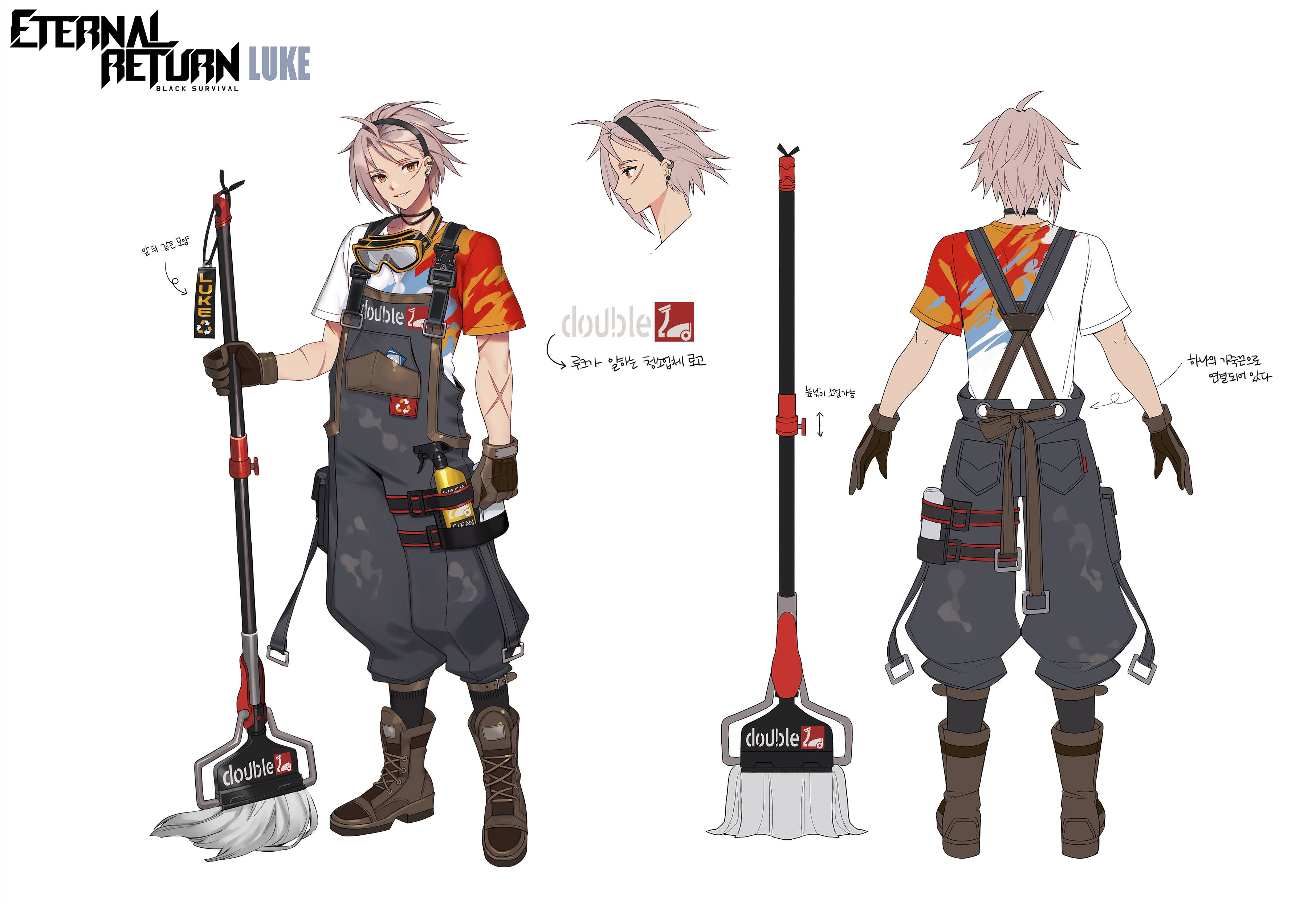 [New Character] Luke Concept Art