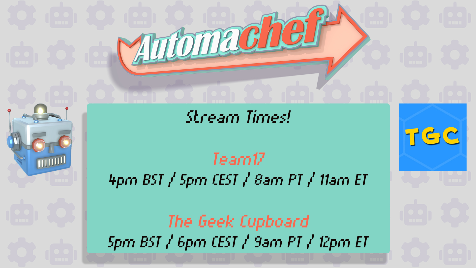 4Pm Bst automachef :: automachef launches 23rd july & free demo!