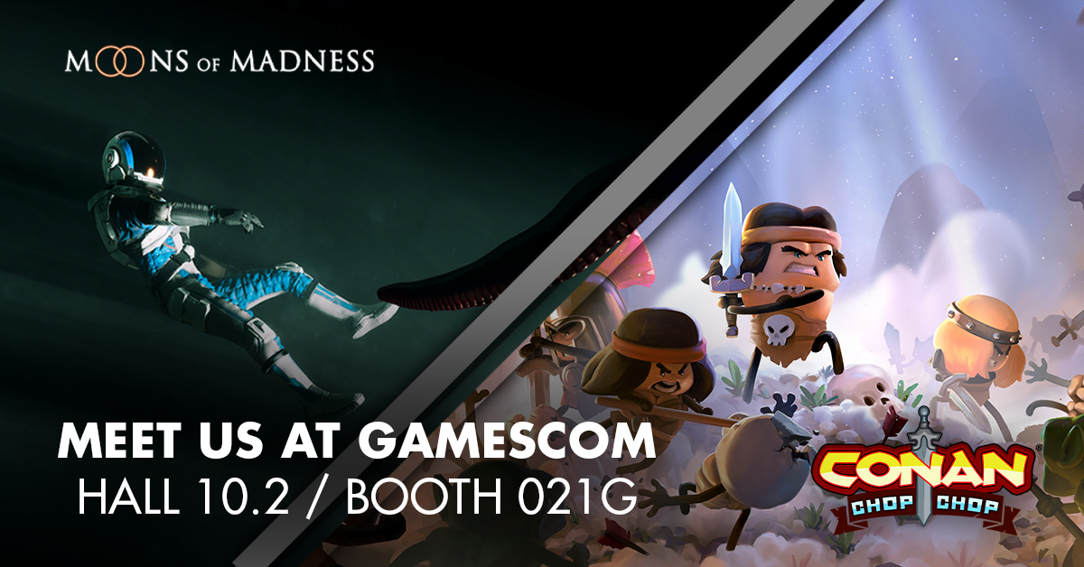 Moons of Madness is coming to Gamescom! Are you?