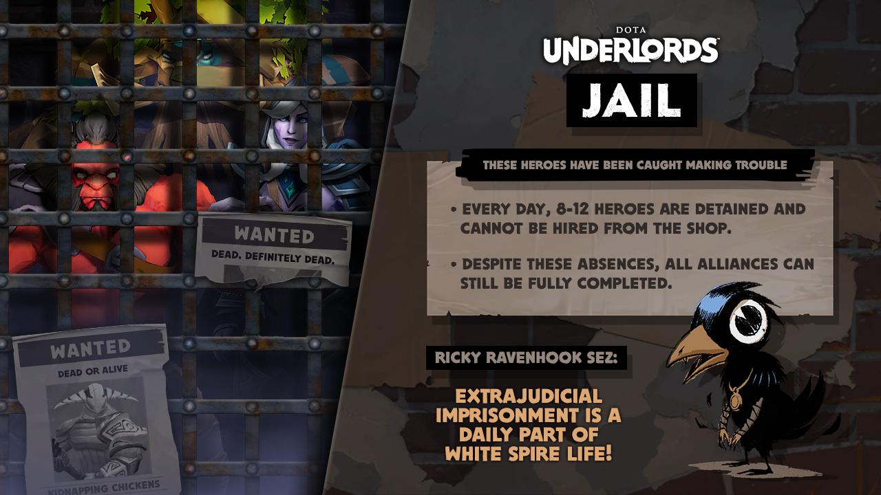 Jail Dota Underlords