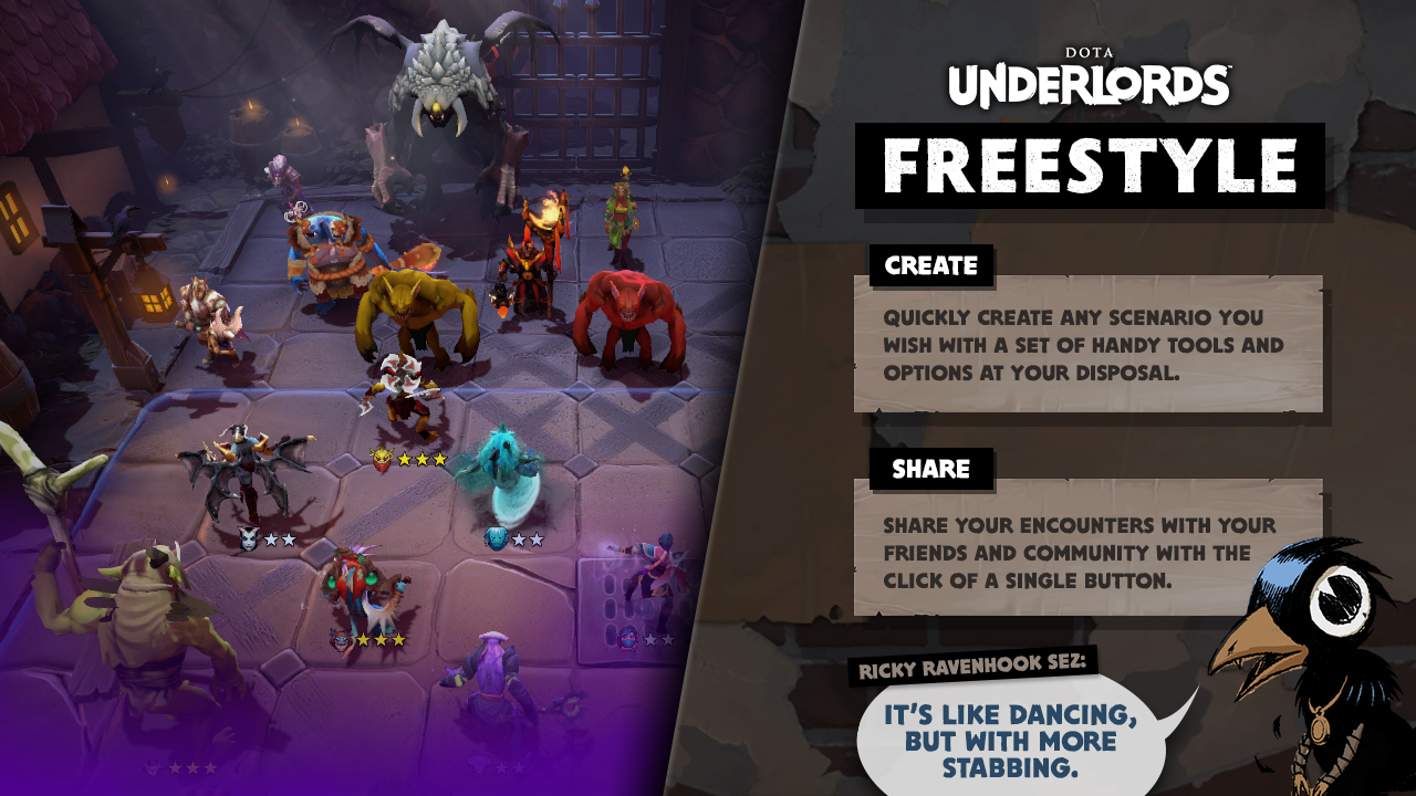 Freestyle Dota Underlords