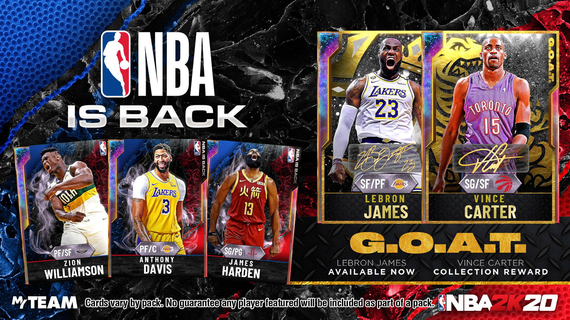 NBA is Back Packs