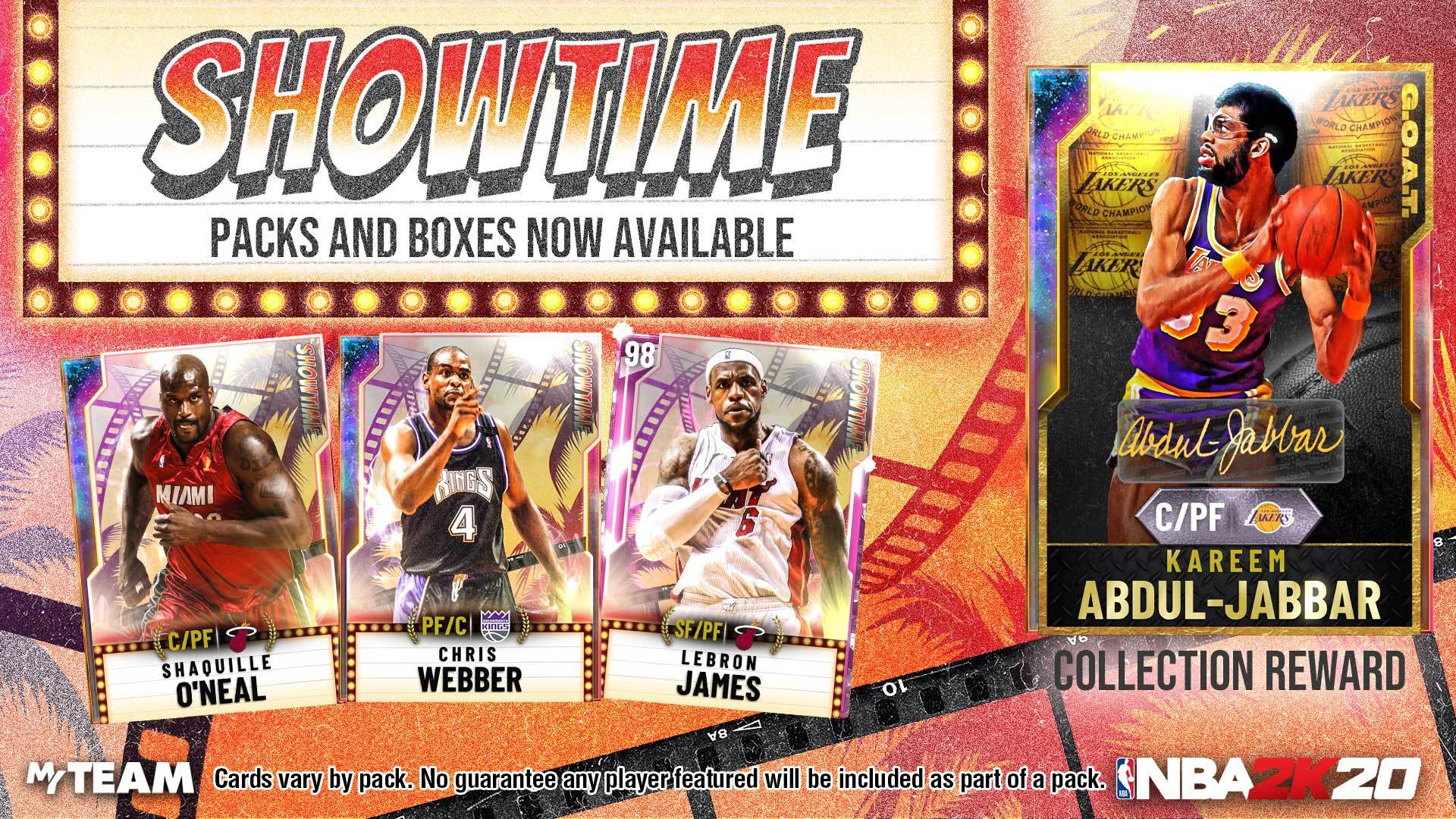 Showtime Packs