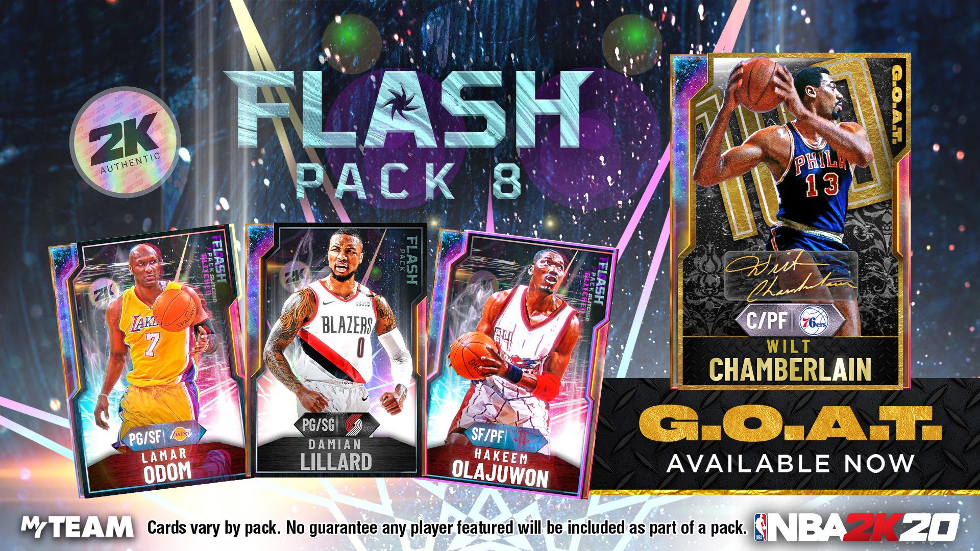 Flash Packs 8