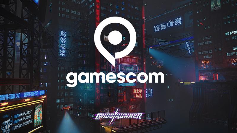 Ghostrunner slashing through gamescom 2020