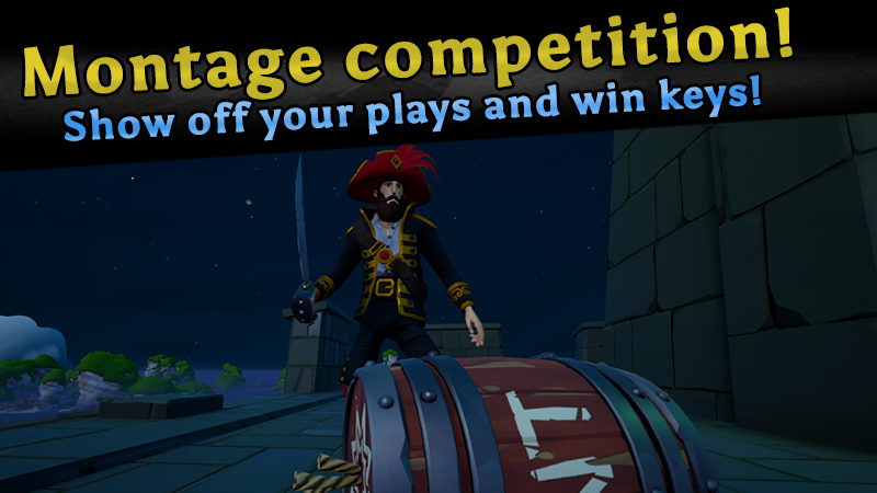 Show off your plays and WIN keys for your crew!