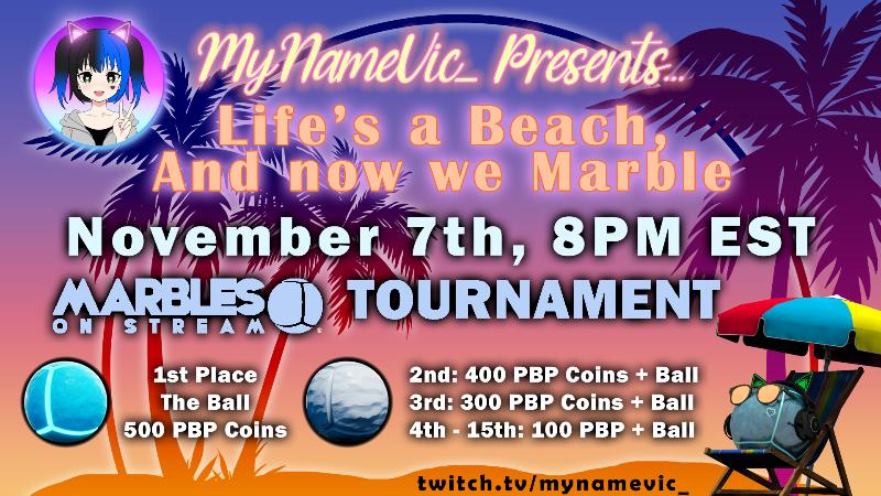 Streamer Tournament Season 19 - MyNameVic_