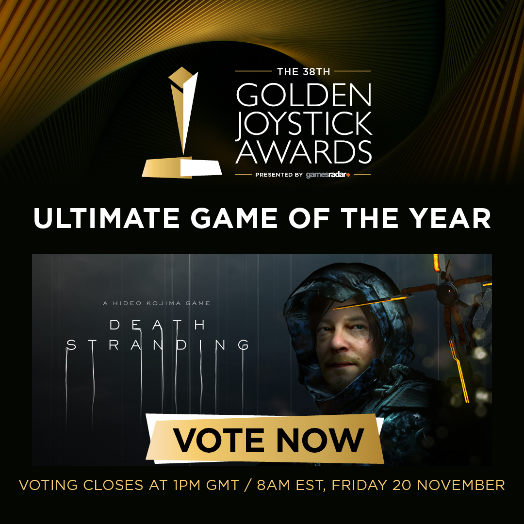 PLEASE VOTE FOR DEATH STRANDING - ENDS TOMORROW!