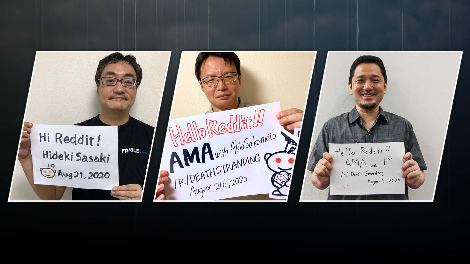 5 MINUTES TO GO! COME GET INVOLVED IN OUR NEXT KOJIMA PRODUCTIONS AMA