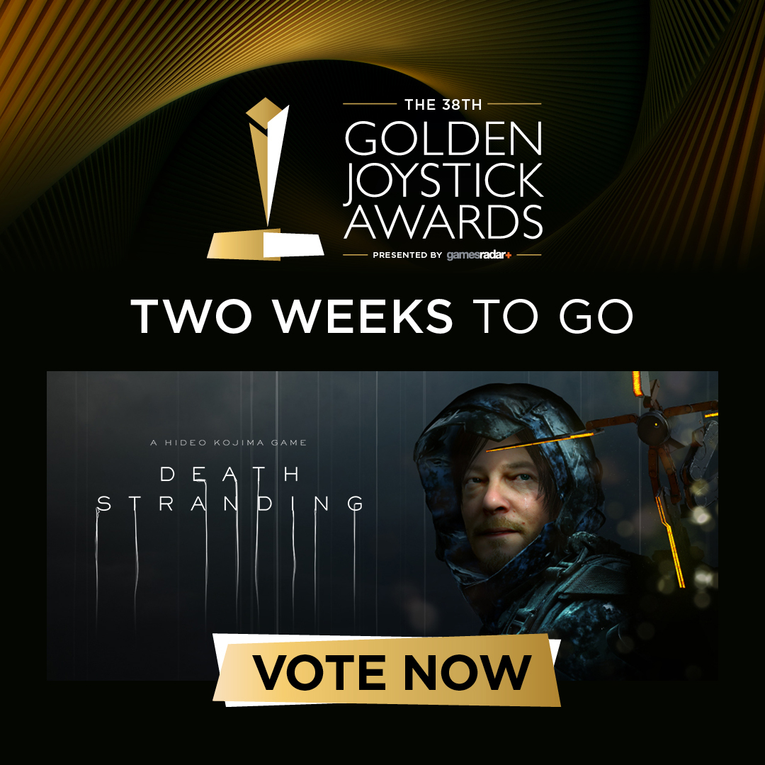 2 WEEKS LEFT TO VOTE FOR DEATH STRANDING