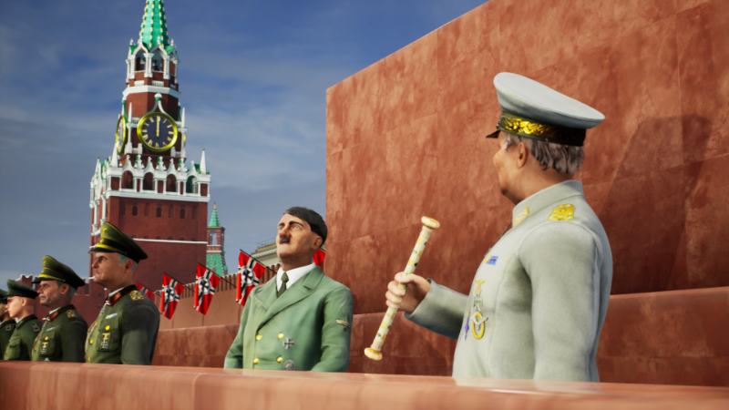 Steam :: Strategic Mind: Blitzkrieg :: Hitler on the Red square: Russian media outburst
