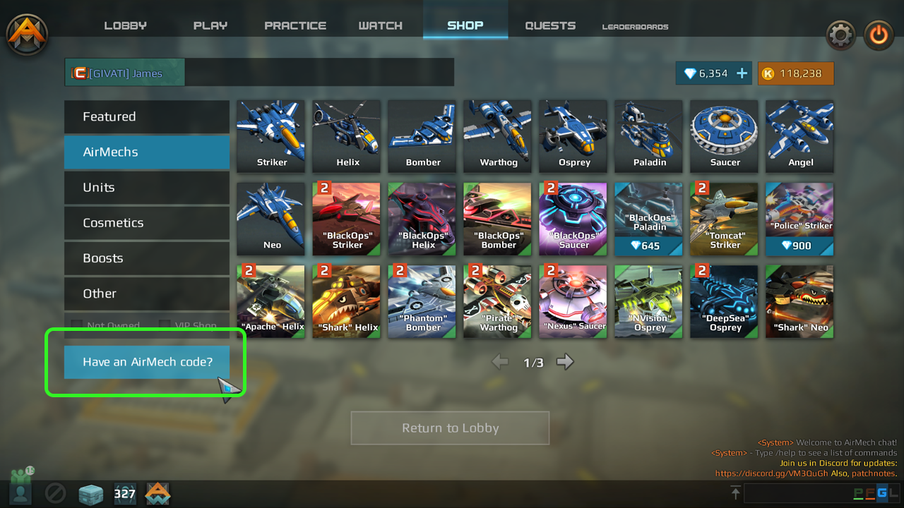 News all news them supplies are limited remember it is not a steam key its an airmech key that you use inside the game click shop then look in the lower left biocorpaavc Images