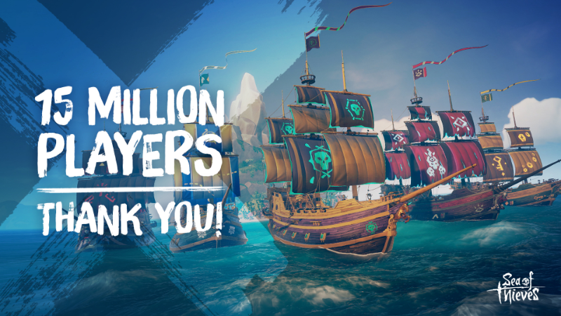 Sea of Thieves pass 15 million players since launch