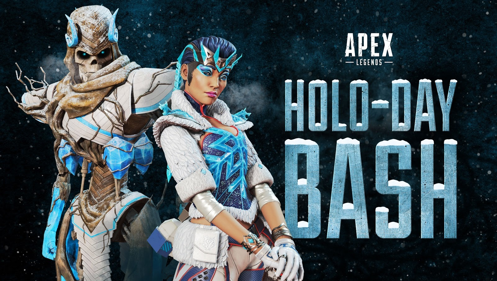 Apex Legends' Holo-Day Bash is live with the Winter Express limited-time mode
