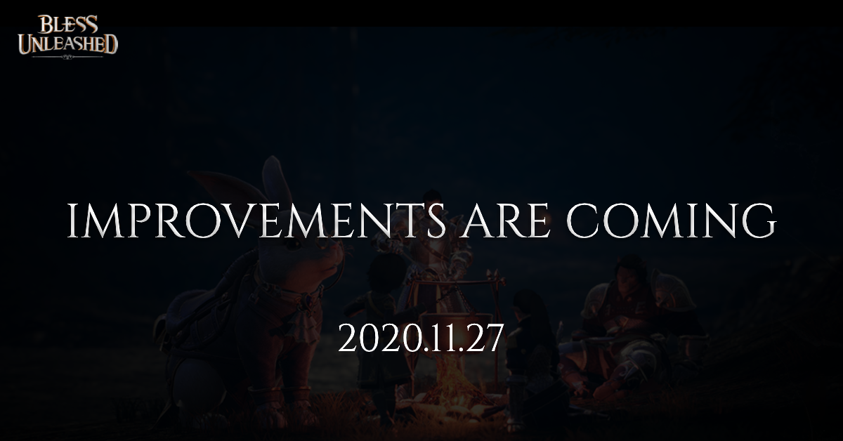 [D-7] Improvements are coming
