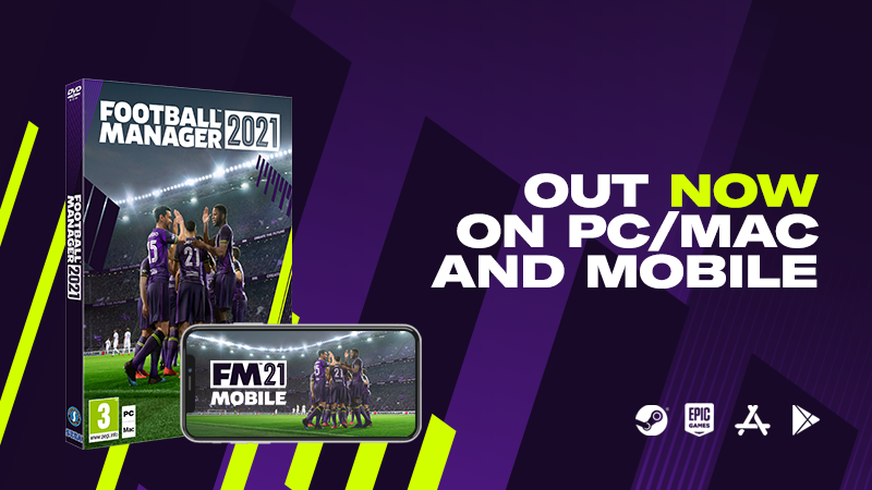 FM21 Out Now!