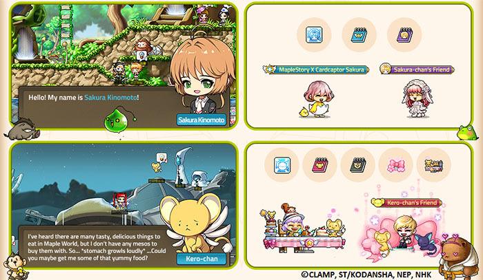 MapleStory :: v 198 – MapleStory X Cardcaptor Sakura: Clear