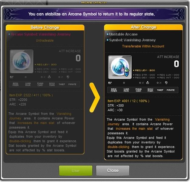 Maplestory V196 Ark Update Preview