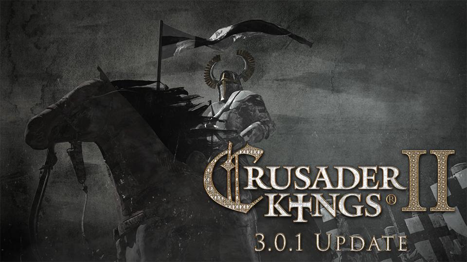 Crusader Kings II :: Crusader Kings II: 3 0 1 Update is live!