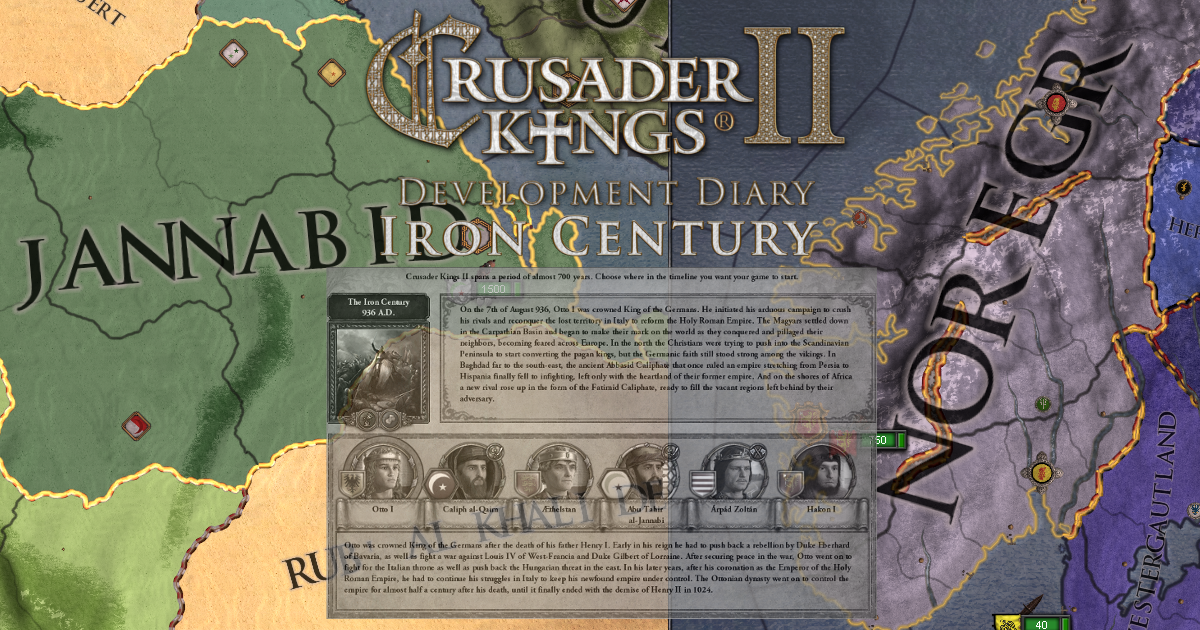 May 21 Christians of the Iron Century Crusader Kings II