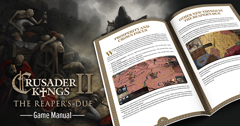 Nov 15, 2018 Crusader Kings II: The Reaper's Due game