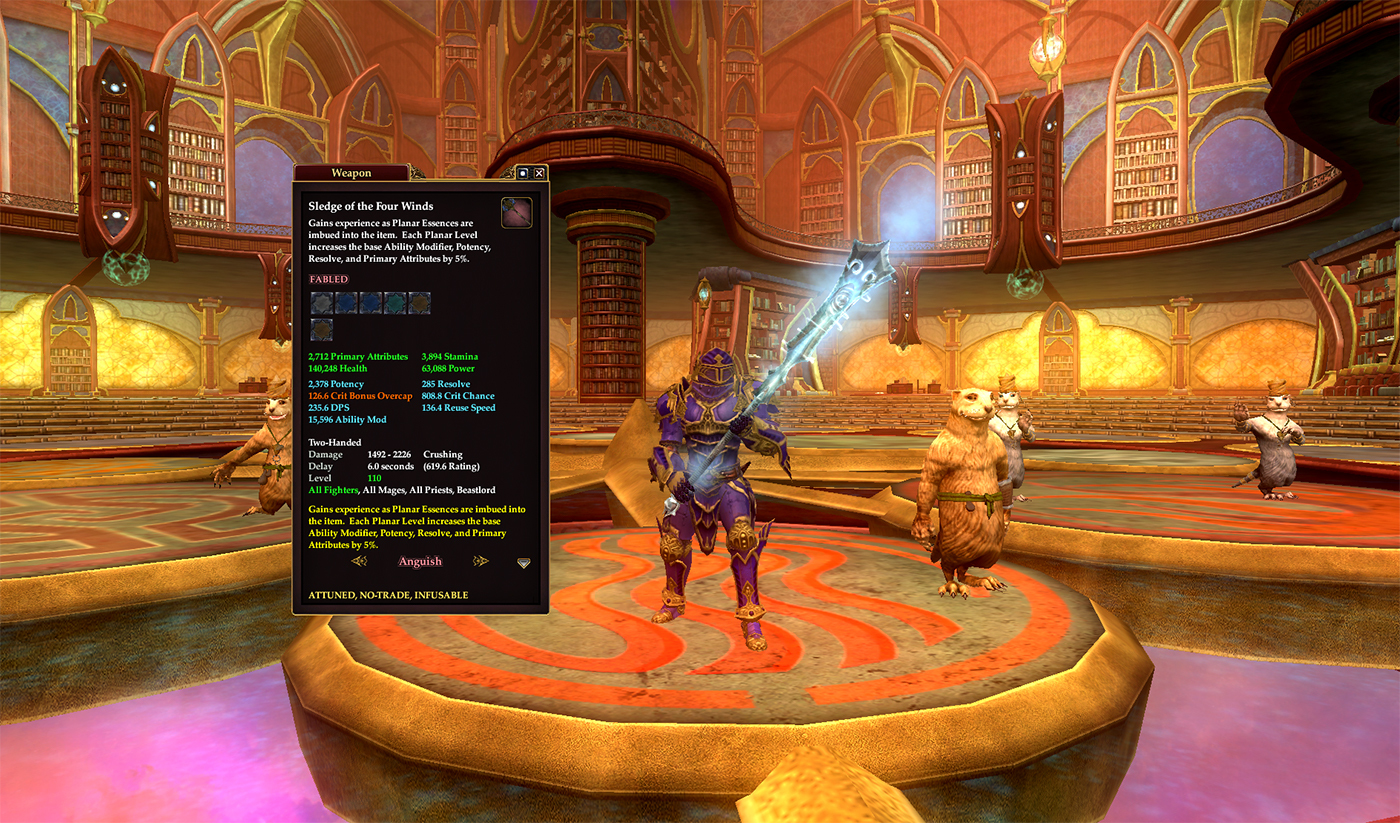 EverQuest II :: Group Announcements