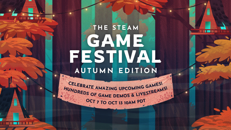 The Steam Game Festival: Autumn Edition On Now
