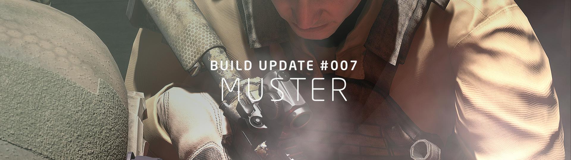 Dec 13, 2018 BUILD UPDATE #007: Muster GROUND
