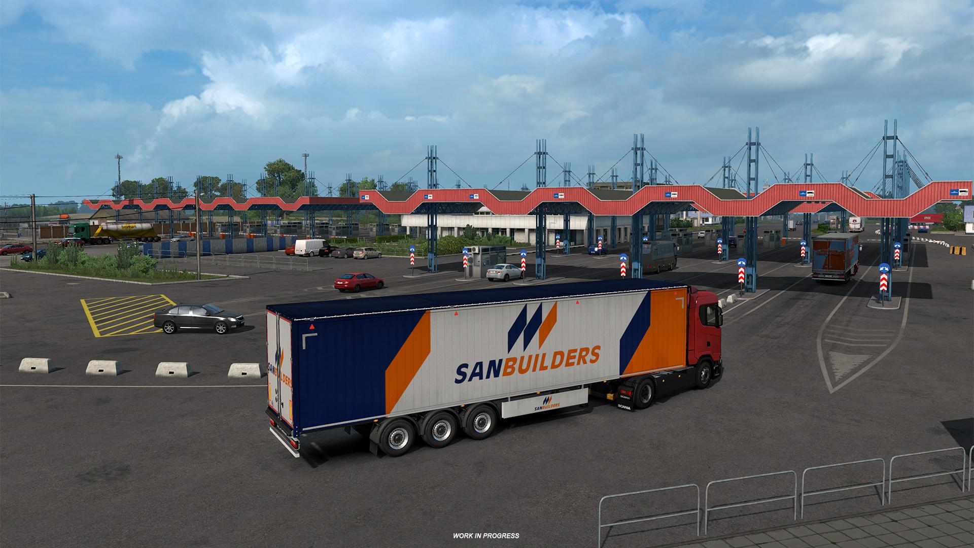 Jun 25 Road To The Black Sea: Border Crossings Euro Truck