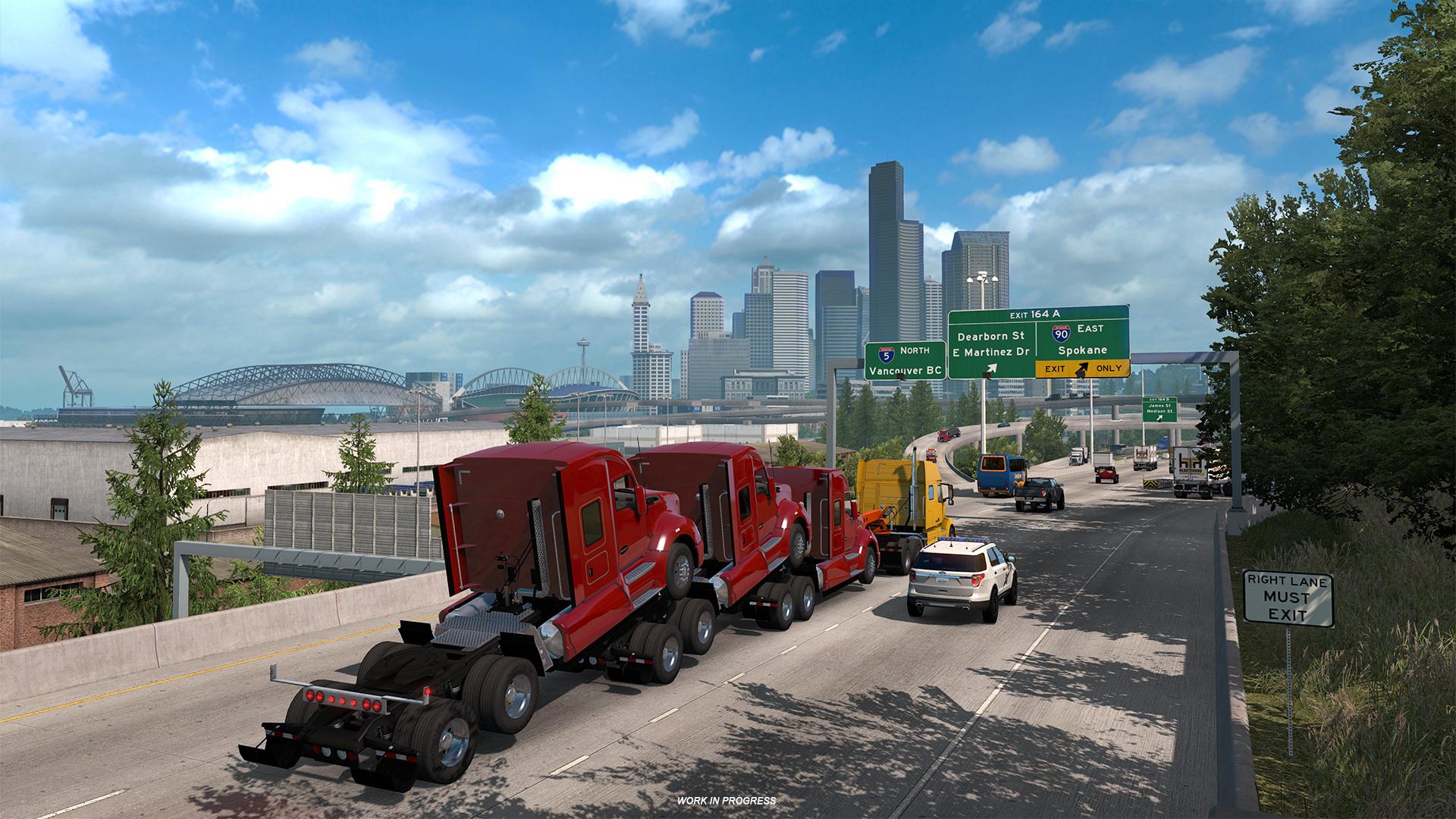 May 29 Washington: Seattle American Truck Simulator