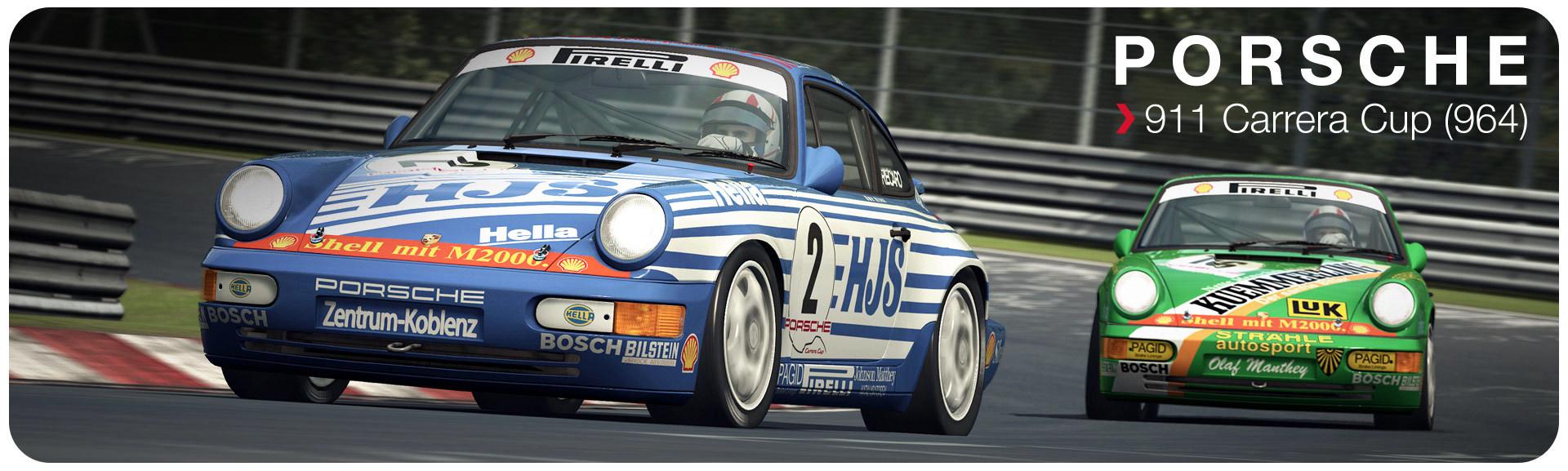 Porsche 911 Carrera Cup