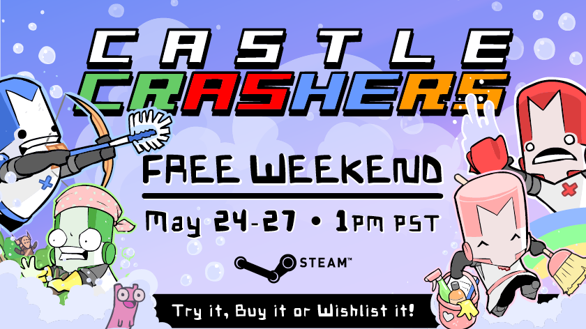 castle crashers remastered free download pc