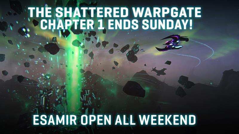Chapter 1 of The Shattered Warpgate Ends on Sunday Night!