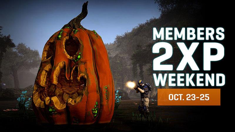 October Members Double Experience Weekend!