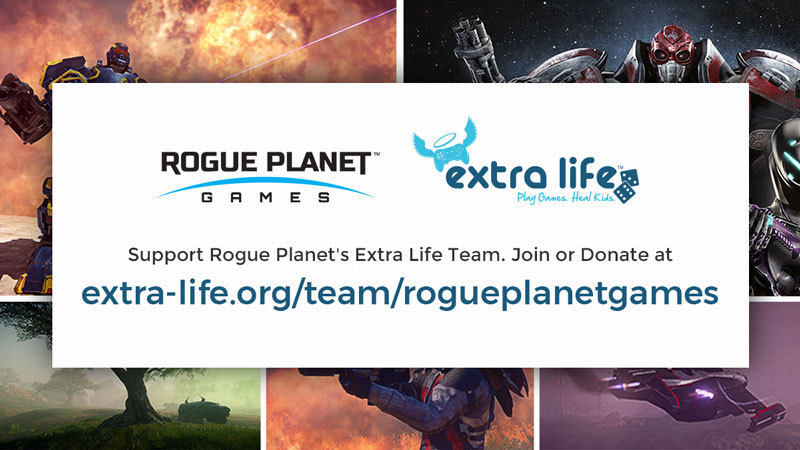 Rogue Planet Games Rallies For Extra Life!