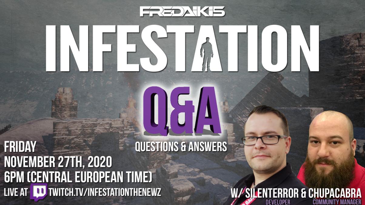 Live Q&A #2 on Twitch