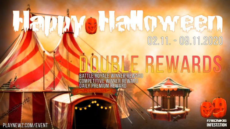 Halloween 2020 Event - Double Rewards