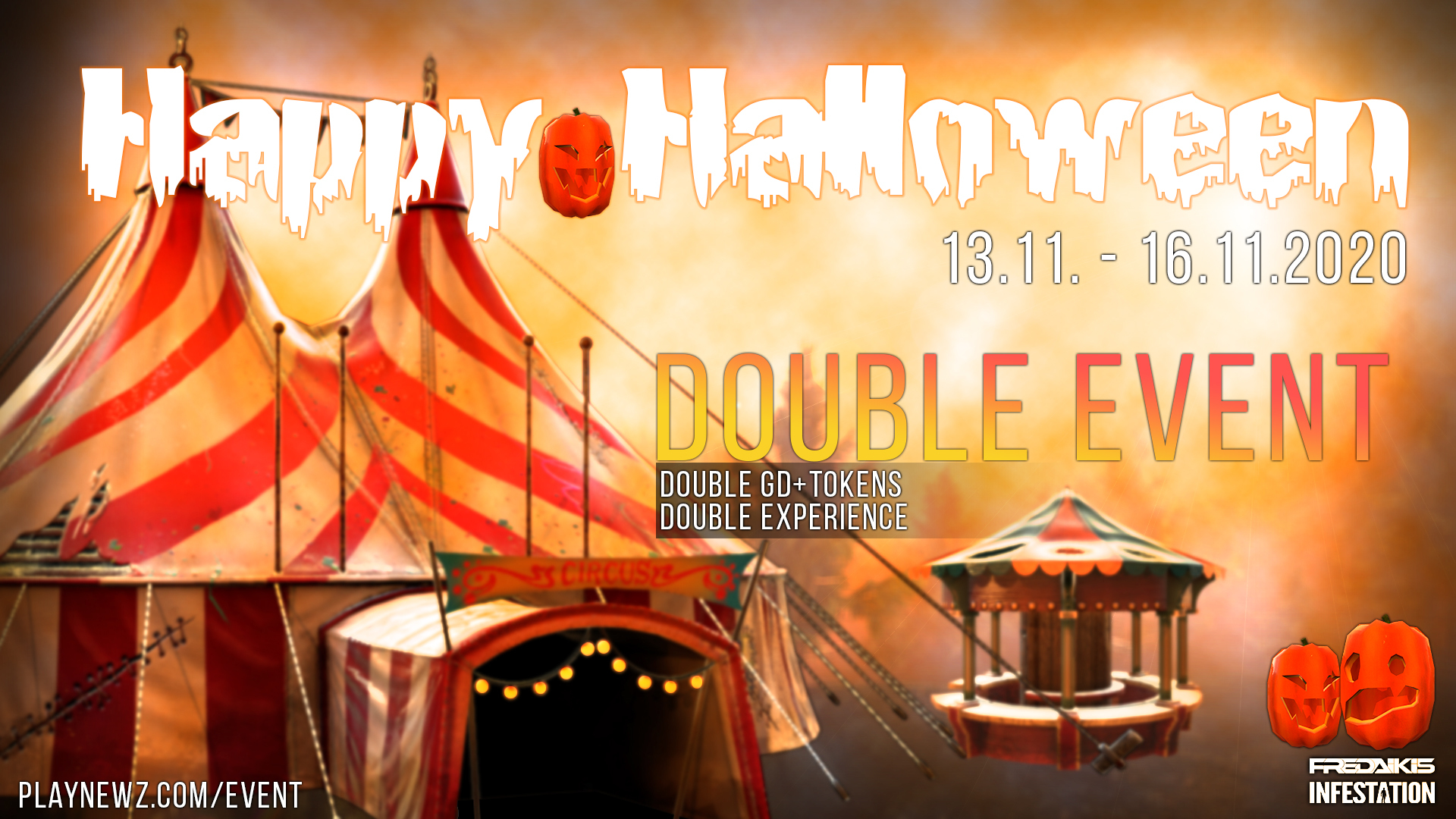 Halloween 2020 Event - Double XP