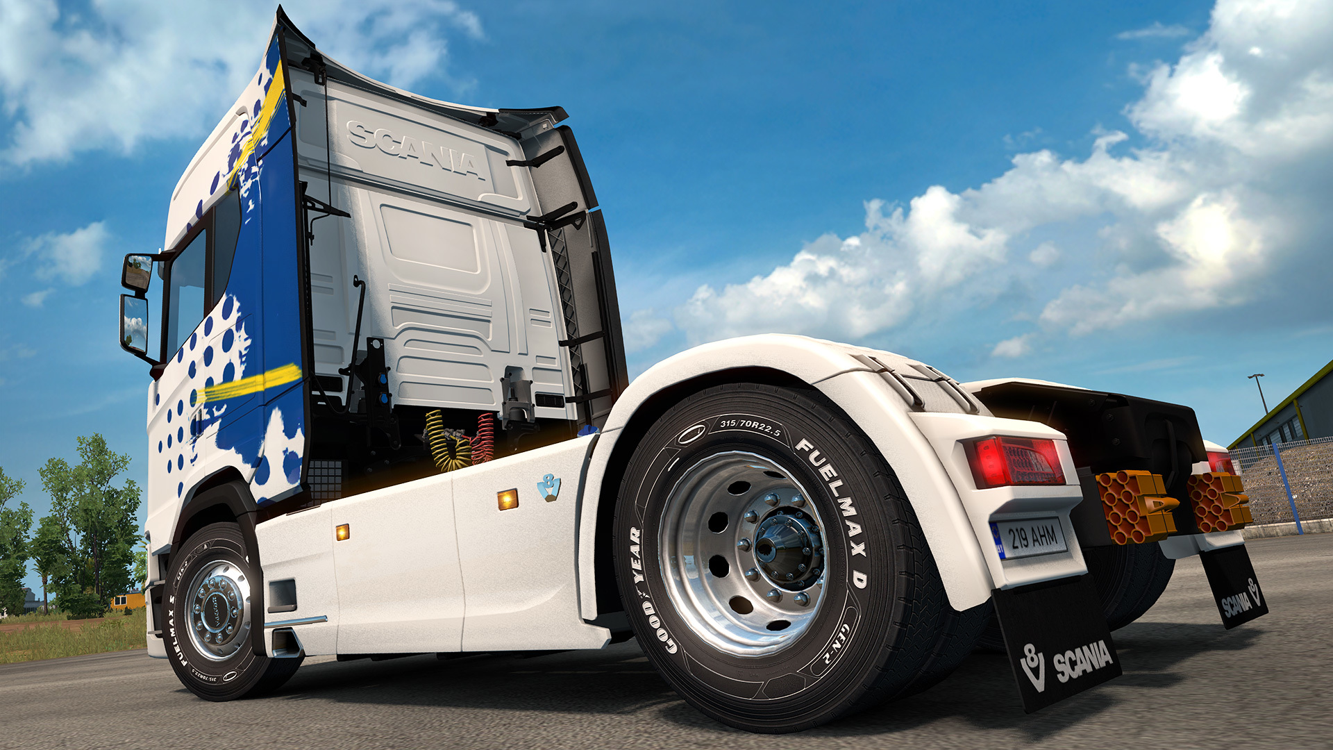 Euro Truck Simulator 2 :: Event: Goodyear Roll-Out!