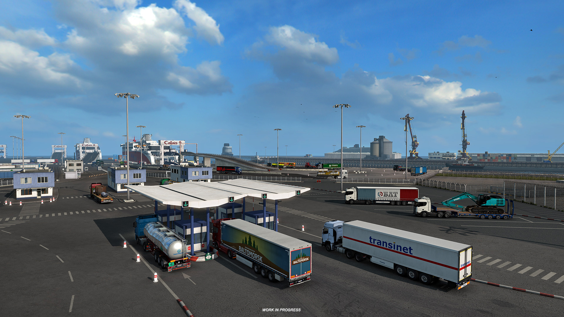 Euro Truck Simulator 2: City of Calais Reskin