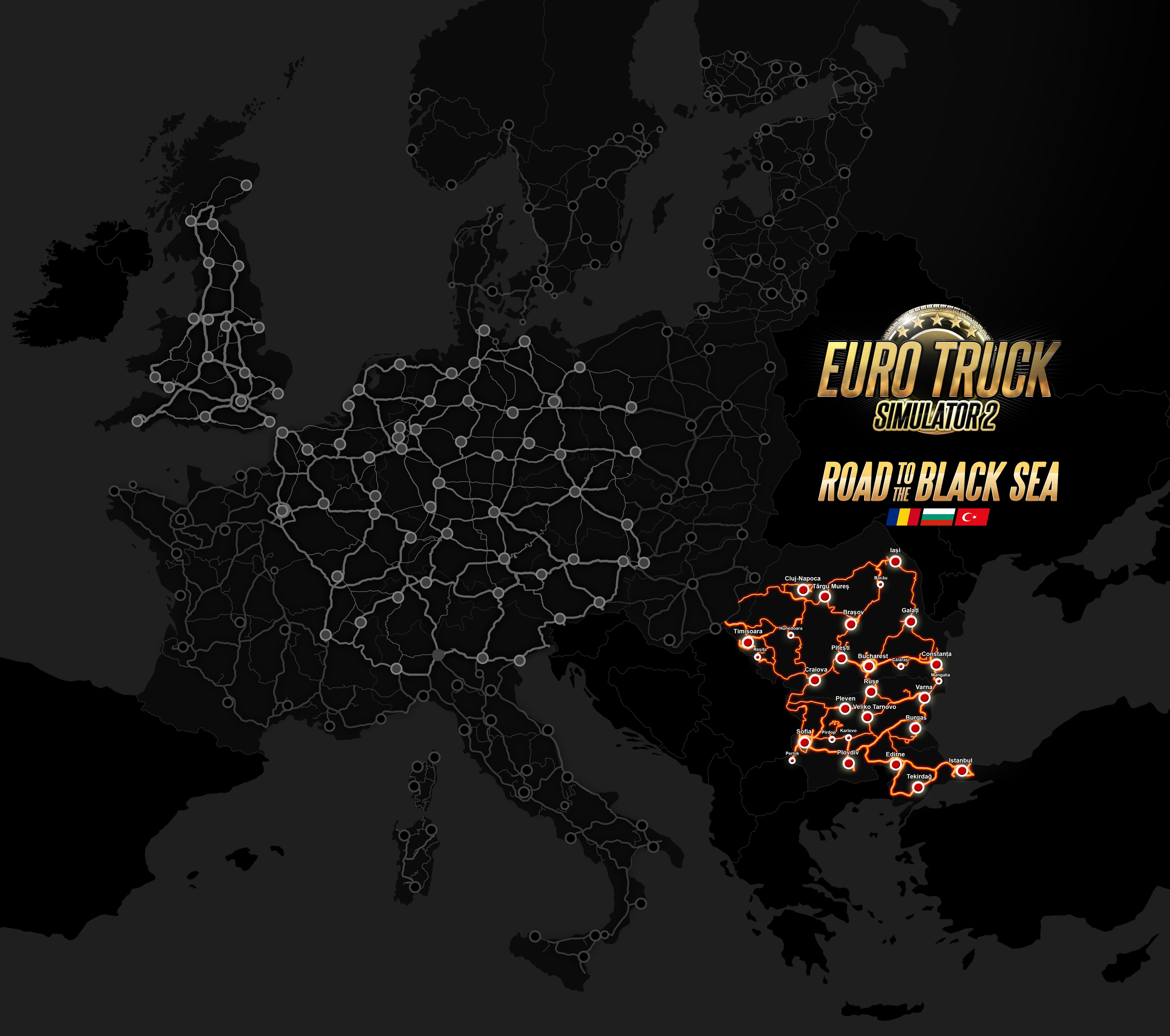 Euro Truck Simulator 2 expande su mapa con tres nuevos países y nuevas opciones