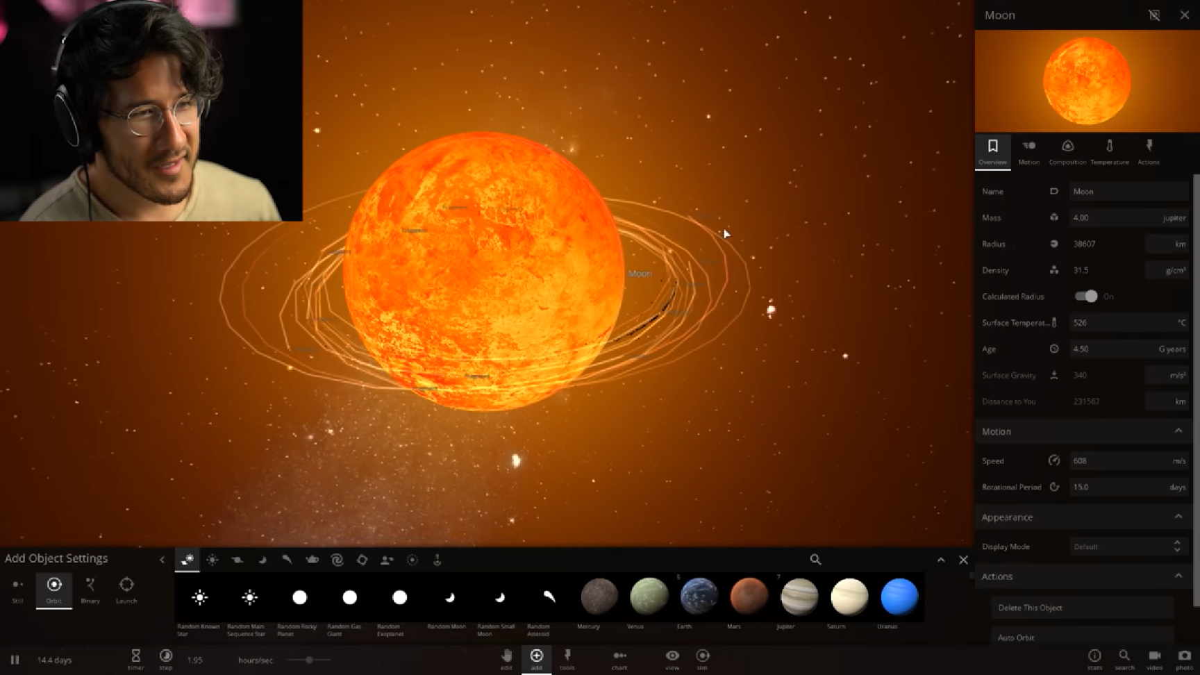 instalar universe sandbox 2 alpha 19