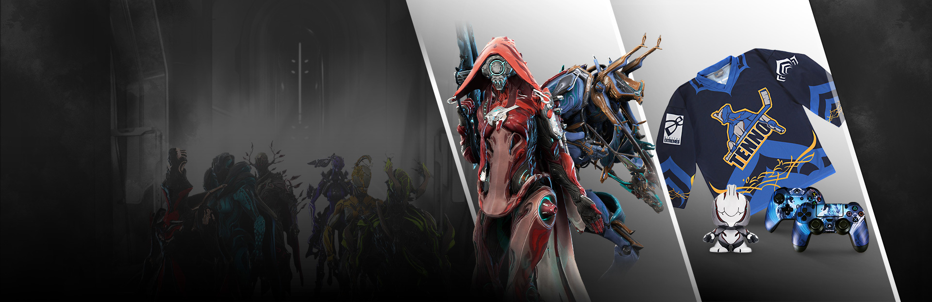 Warframe Nova Fashion Frame / Nova corpra skin alter the appearance of nova, including nova prime warframe, with special patterns and colors.