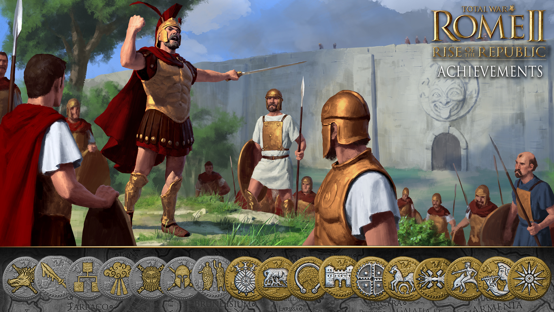 Total War™: ROME II - Emperor Edition - Rise of the Republic Achievements -  Steam News