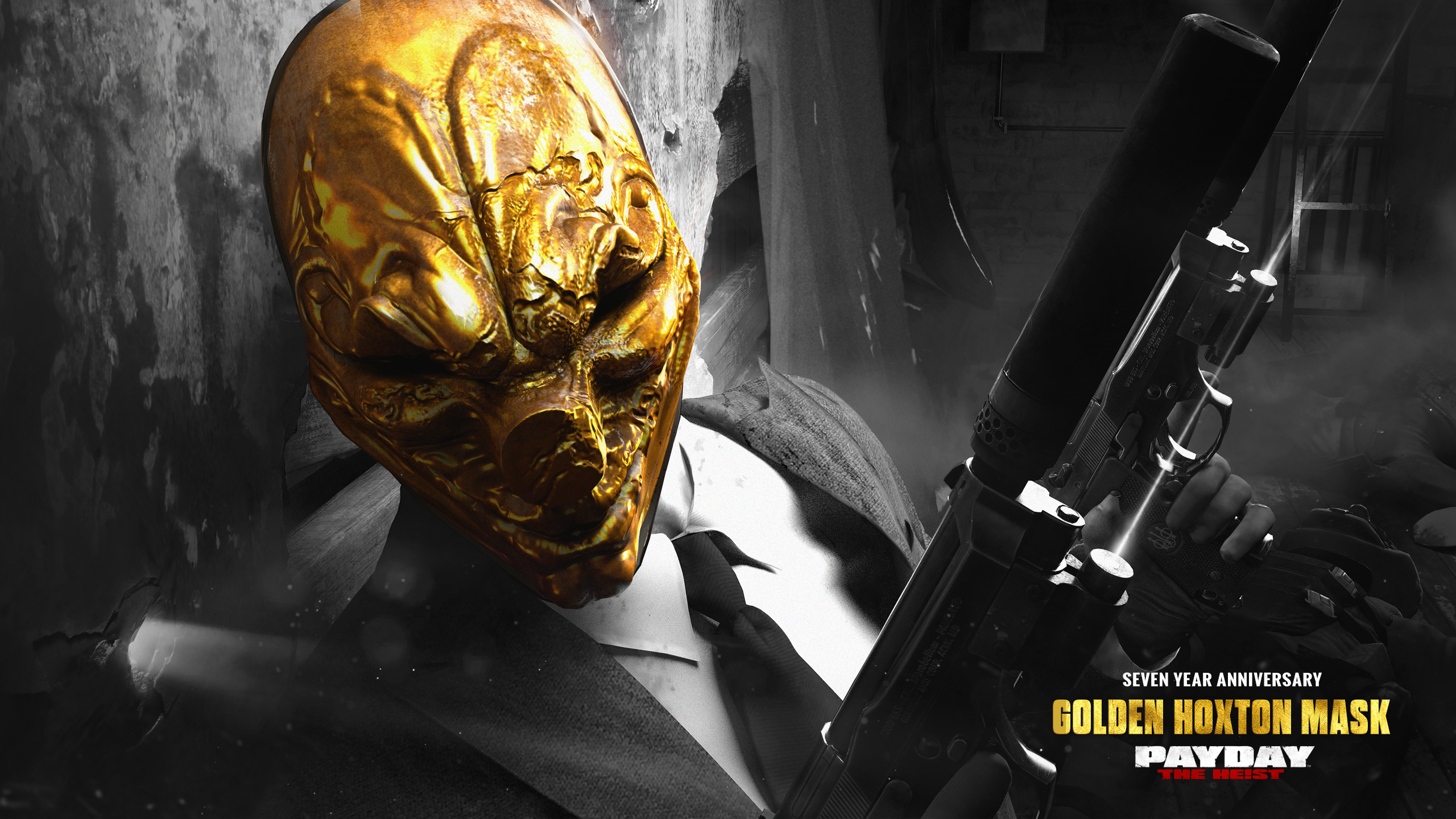 Are There Golden Mask Wallpapers For All Heisters Paydaytheheist