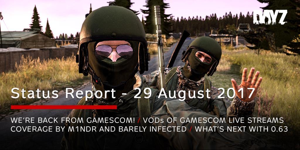 This Week The Status Report Fully Focuses On Recapping Our Gamescom Experience Weve Been Presenting 063 Playable DEMO In Cologne Germany Entire