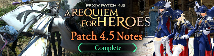 Jan 8 Patch 4 5: A Requiem for Heroes NOW LIVE! FINAL