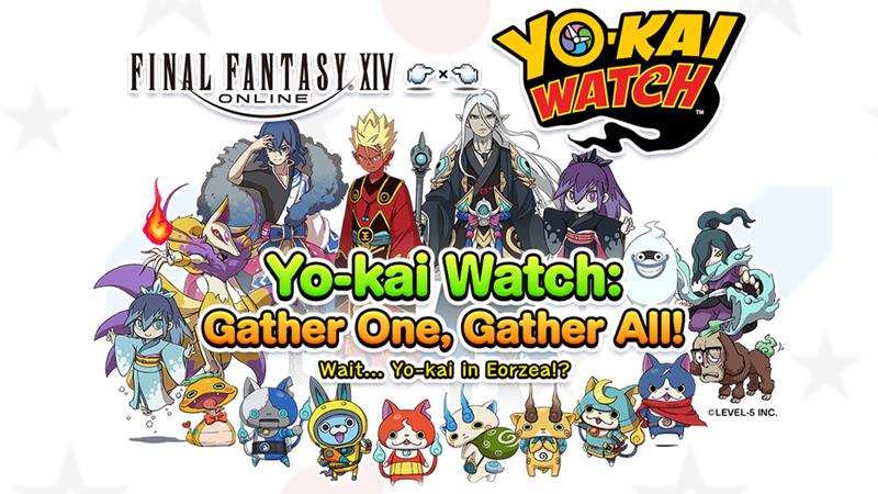 Gather One, Gather All! Yo-kai Watch Returns to Eorzea!